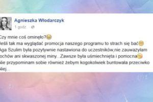 """Agnieszka Włodarczyk o """"Azja Express"""": """"Szulim była pozytywnie nastawiona"""""""