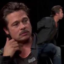 Brad Pitt OPLUŁ Zaca Galifianakisa!
