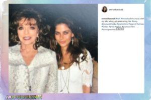 Weronika Rosati przypomina stare zdjęcie