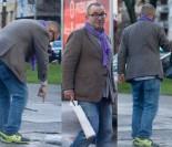 Zmęczony Rafał Bryndal upuścił wino... (ZDJĘCIA)