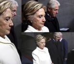 Smutna Hillary Clinton na zaprzysiężeniu Donalda Trumpa (ZDJĘCIA)