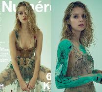 Siostra Kate Moss w stylizacjach