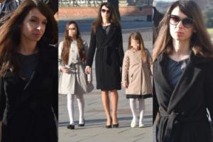 Marta Kaczyńska z córkami na Wawelu (ZDJĘCIA)