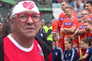 """Owsiak zachwyca się meczem WOŚP vs. TVN: """"Tak bawmy się na każdym stadionie. Trzeba być tolerancyjnym!"""""""