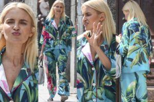 Horodyńska spaceruje w piżamie za ponad 7 tysięcy... (ZDJĘCIA)