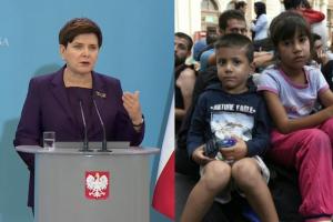 """Szydło: """"Nie ma możliwości, aby do Polski byli przyjmowani uchodźcy!"""""""