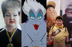 Ludzie, którzy wyglądają jak postacie z Disneya!