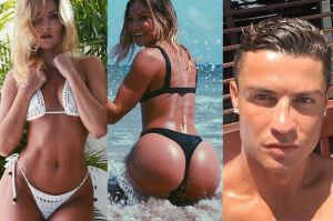 Cristiano Ronaldo ma romans z gwiazdą fitnessu! Seksowna? (ZDJĘCIA)