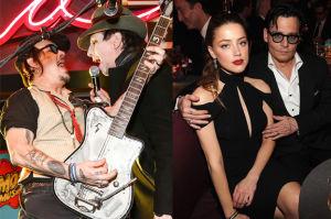 """Marilyn Manson broni Deppa: """"Został niesprawiedliwie ukrzyżowany"""""""