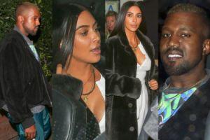 """Kim Kardashian i Kanye West """"ratują małżeństwo"""" na randce w Santa Monica (ZDJĘCIA)"""