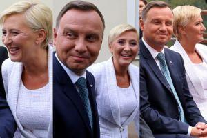 Uśmiechnięty i opalony Andrzej Duda na Jasnej Górze (ZDJĘCIA)
