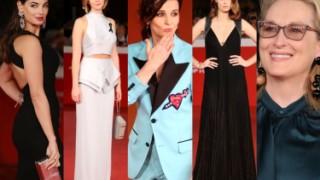 Najlepsze stylizacje z festiwalu filmowego w Rzymie: Smutniak, Wichłacz, Streep, Binoche... (ZDJĘCIA)