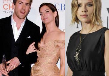 Johansson jest załamana romansem Reynpnldsa i Bullock!