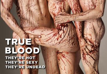 """Krwawa sesja gwiazd """"True Blood""""!"""