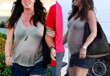 Alanis Morissette w zaawansowanej ciąży!