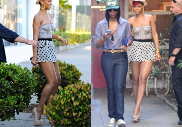 Rihanna w groszki... (ZDJĘCIA)